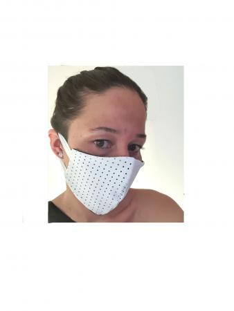 mascherina puntini traforati