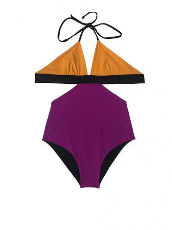 clotilde orange nero violet